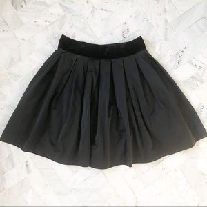 BB Dakota black Taffeta Skirt